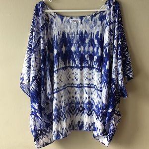 Cotton On Boho Ikat Beach Cover up XS/S